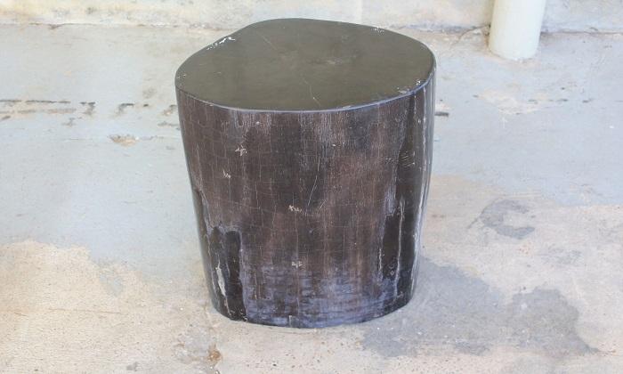 Petrified Wood Stool / Side Table | 14.5u2033 X 10u2033 X 20u2033 H | $1325.00. 039.  039; 039a; 039b. « Petrified Wood Stool / Side Table
