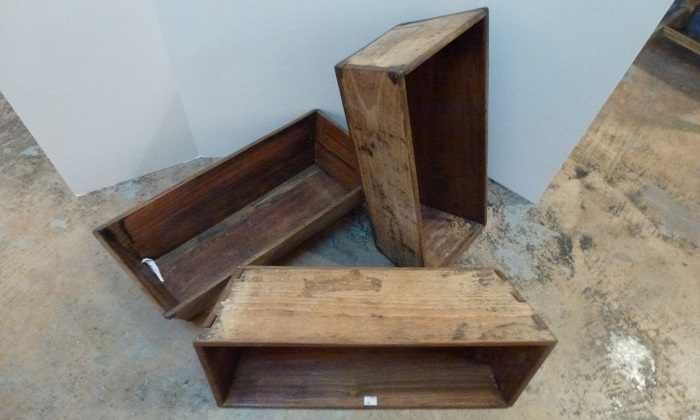 Reclaimed Wood Box - AREA-Houston Antiques & Furniture - Reclaimed Wood Box