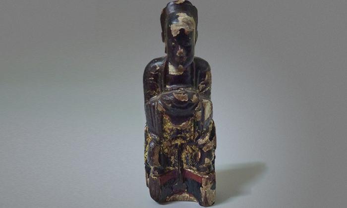 Vintage Chinese Ancestral Figure