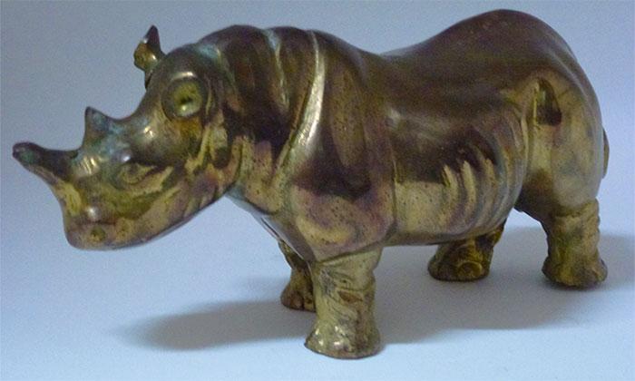Brass rhino