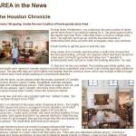 Houston Chronicle article on AREA Houston