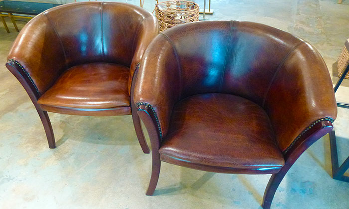 1940s French Smoking Chairs