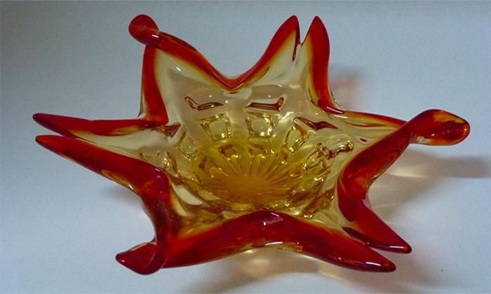 Vintage Murano Glass Dish