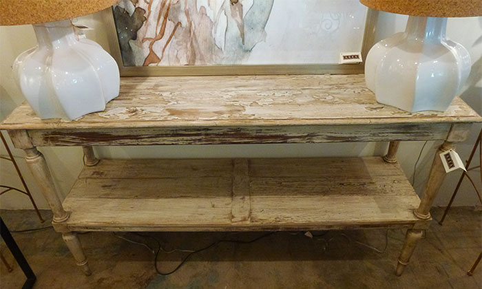 Pastry Table - Reclaimed Wood